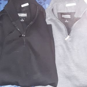 Two mens sweaters
